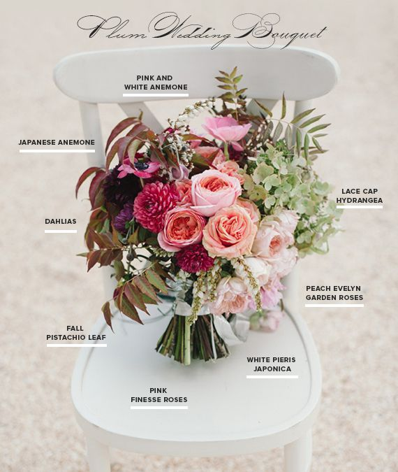 Rich plum bouquet recipe by Shotgun Floral Studio