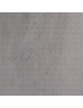 piso de borracha daud placa botão 4mm x 50cm x 50cm (m²)   - daud