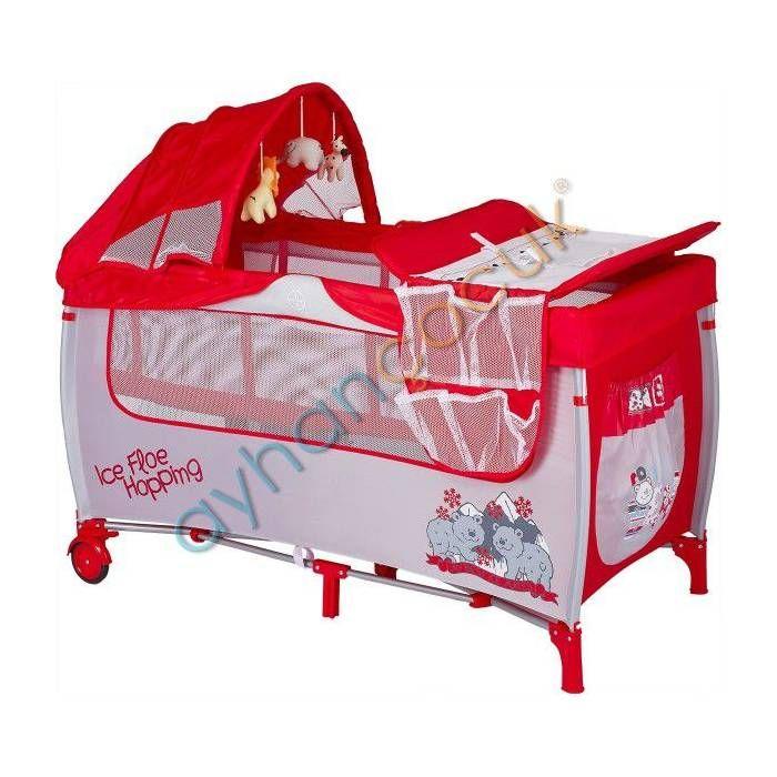 Baby2go 8435 60x120 Lüx Hamaklı Oyun Parkı Yatak