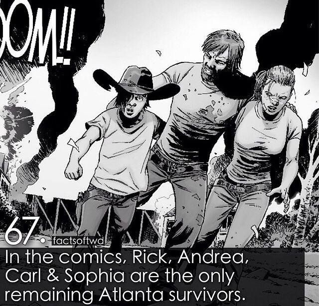 Interesting that they killed Sophia off so early in the show or that they killed Andrea off at all.