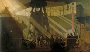 Image result for George Clausen In the Gun Factory at Woolwich Arsenal