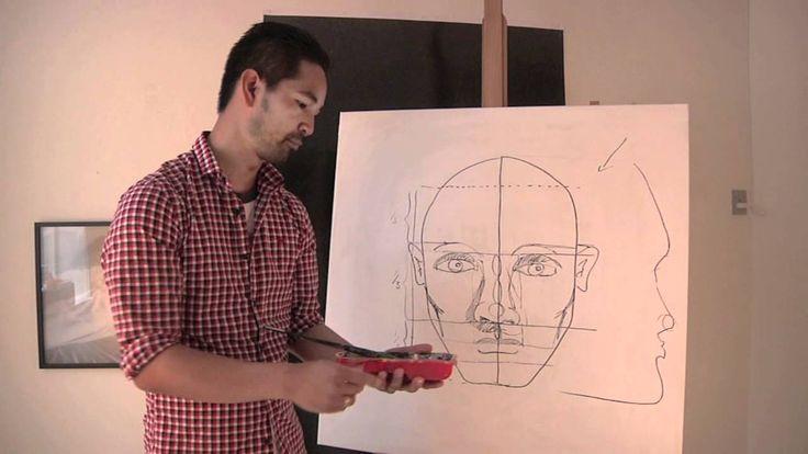 Lær at male et ansigt del 2 - øjnene - med Martin Quade
