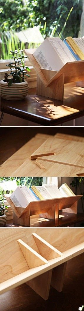 Link didn't work, but the pics give info needed to make this. I love this idea because it frees up desk space.