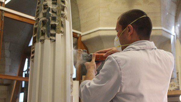 Modeling at Sagrada Família