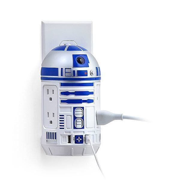 R2-D2 AC /USB Power Station ($30)