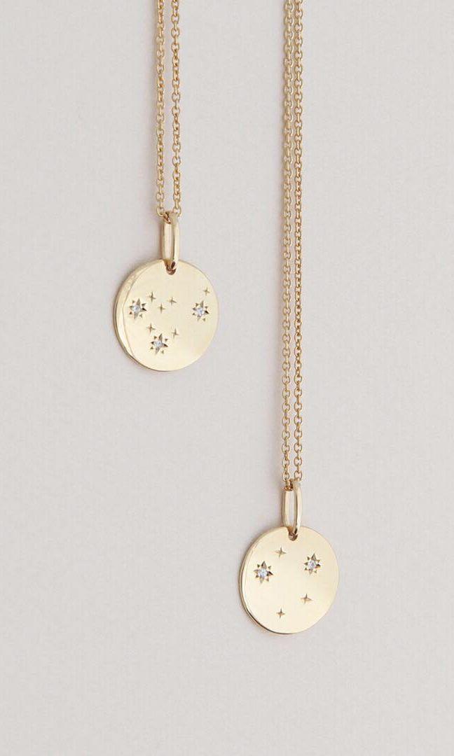 The new friendship necklaces. #thenewzodiac