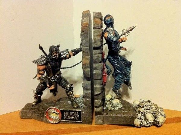 Mortal Kombat 9 Bookends – $80