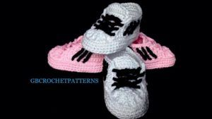 Adidas Inspired Baby Sport Shoes Pattern