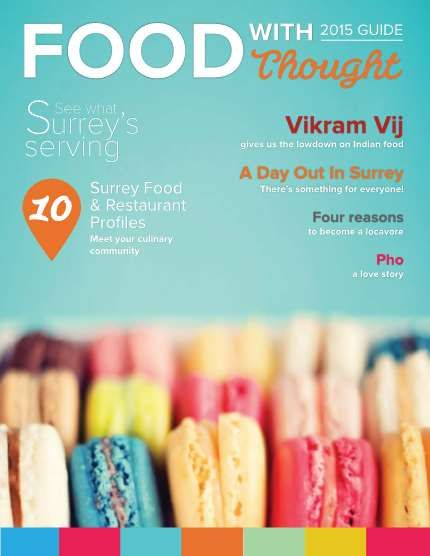 See what Surrey's serving in our new Food With Thought guide. #TrueSurrey