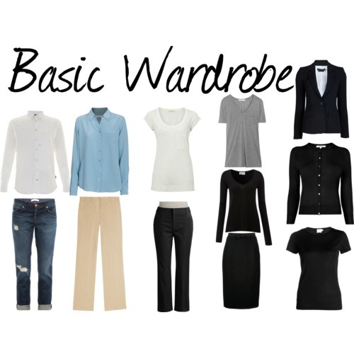 Basic Work Wardrobe: 61 Best Images About Wardrobe Mix And Match On Pinterest