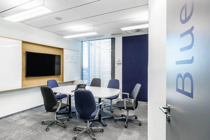 Biuro firmy William Demant - obiekt referencyjny Kinnarps