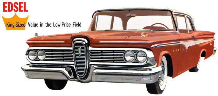 vintage edsel photos   Plan59 :: Classic Car Art :: Vintage Ads :: 1959 Edsel Ranger