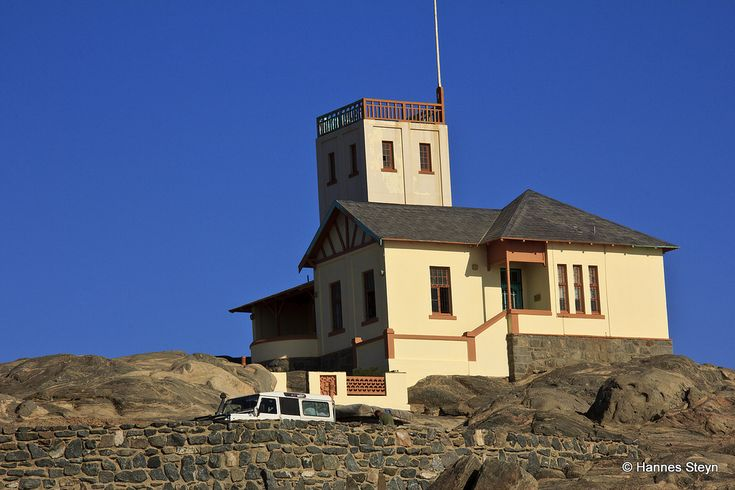 The Lighthouse, Shark Island,  Luderitz, Namibia. Stayed in the lighthouse for 2 nights - awesome experience.