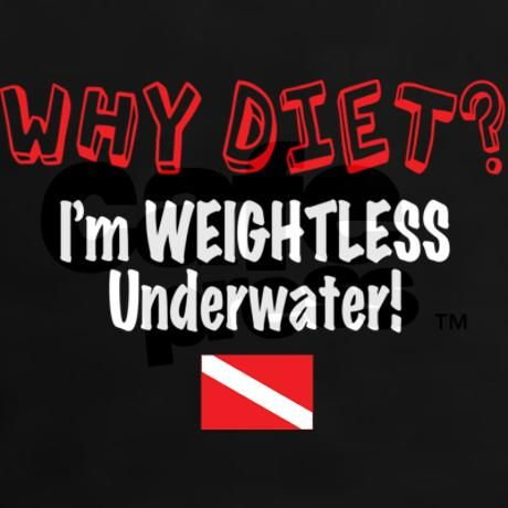 Why Diet? I'm Weightless