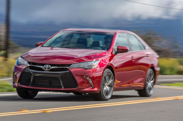 2015 Toyota Camry XSE - Provided by MotorTrend