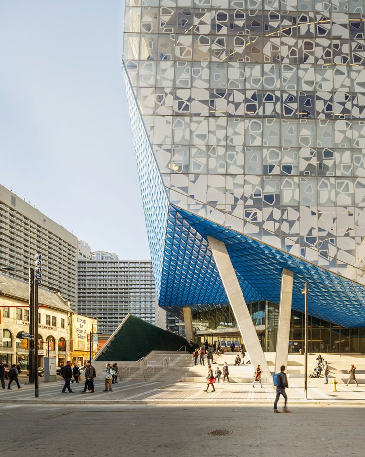 The Ryerson University is the recipient of a 2016 New Library Building Award…