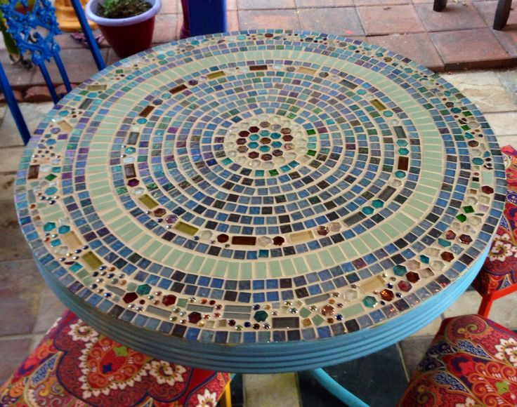 78 Images About Tile Top Patio Table On Pinterest Tile