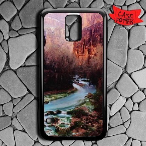 Havasu Canyon Creek Samsung Galaxy S5 Black Case