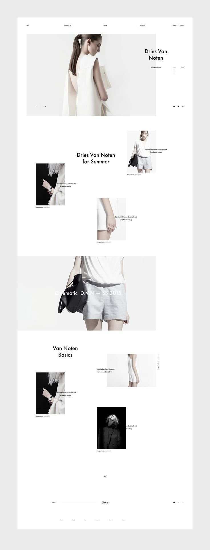 Minimalistic Web #Design to Inspire via http://83oranges.com?utm_content=buffer02f14&utm_medium=social&utm_source=pinterest.com&utm_campaign=buffer https://www.pinterest.com/pin/304978205993814044/?utm_content=buffer514e4&utm_medium=social&utm_source=pinterest.com&utm_campaign=buffer #repin