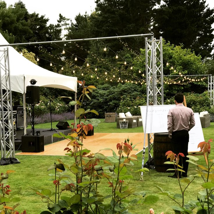 Another angle of our amazing #festoon & #fairylights rig. #TSHWeddings