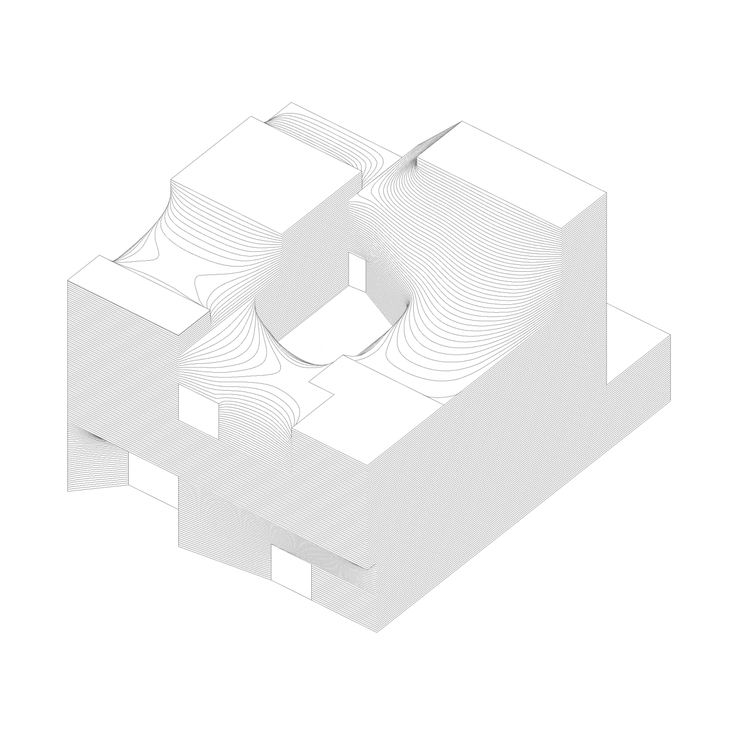 Architecture Drawing Paper 91 best a+ axonometric drawing images on pinterest | axonometric