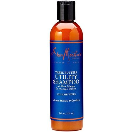 Shea Moisture For Men Three Butters Utility Shampoo 8 oz  $9.45   Visit www.BarberSalon.com One stop shopping for Professional Barber Supplies, Salon Supplies, Hair & Wigs, Professional Product. GUARANTEE LOW PRICES!!! #barbersupply #barbersupplies #salonsupply #salonsupplies #beautysupply #beautysupplies #barber #salon #hair #wig #deals #sales #trimmer #clipper #sheamoisture #threebutters #utility #shampoo