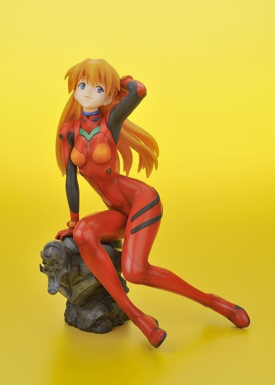 NEON GENESIS EVANGELION: 2.0 YOU CAN (NOT) ADVANCE ASUKA LANGLEY SORYU IN PLUG SUIT ANI*STATUE