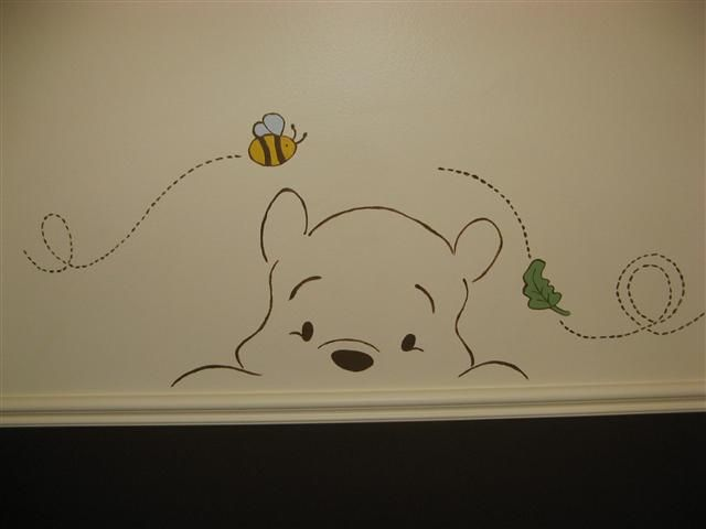 Cute and simple for baby/kid room wall