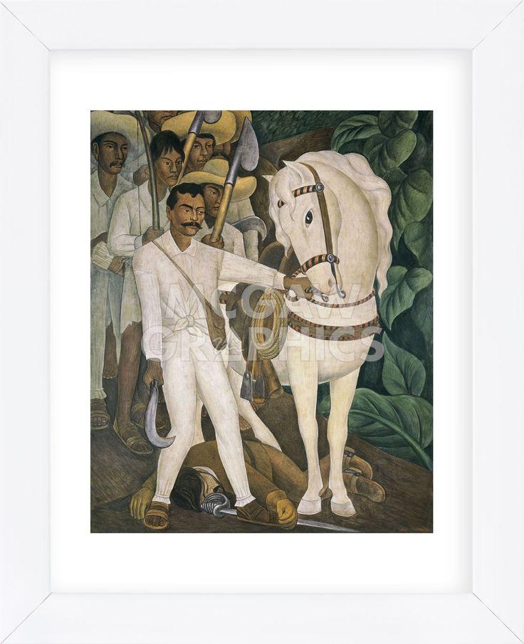 Agrarian Leader Zapata (Framed)
