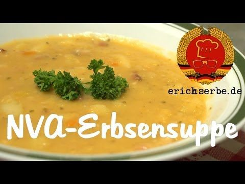 NVA-Erbsensuppe (von: P. Kleefeld) - Essen in der DDR: Koch- und Backrezepte für ostdeutsche Gerichte | Erichs kulinarisches Erbe