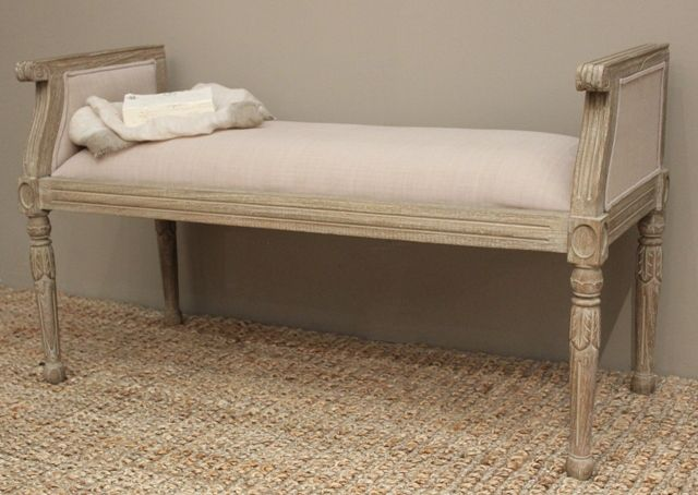 Side Bench Cleo #frenchprovincial #interiordecor #sidebench
