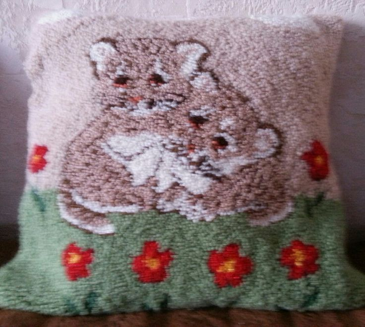 Leopards - Punch Needle Rug Hooking