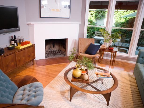 Mid-century-modern Living-rooms from Emily Henderson on HGTV