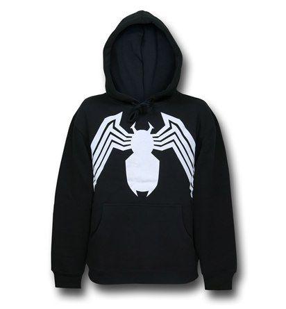 Images of Venom Symbol Pullover Hoodie