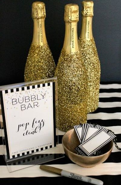 These guidelines will help you get your home ready for New Year's Eve. #Newyeareve #holidays #organization