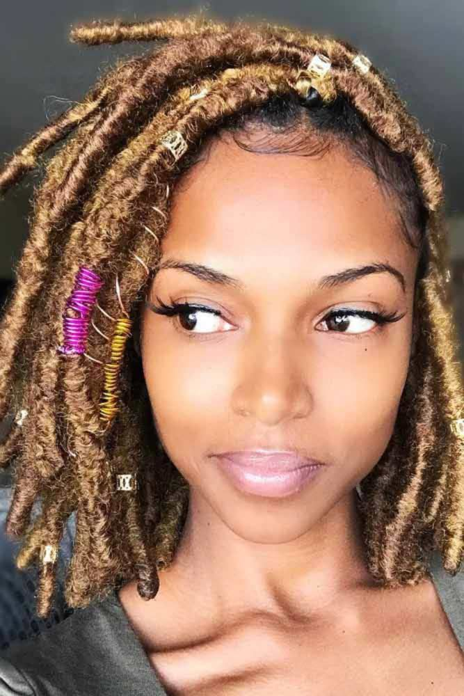 Crochet Braids With Faux Locs #braids #bob ★ Do you know how variously you can pull off crochet braids? Let us fill you …