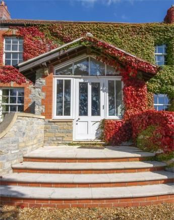 How to make an entrance welcoming, protective, secure, attractive - lovely! March '17, Wedmore, Som