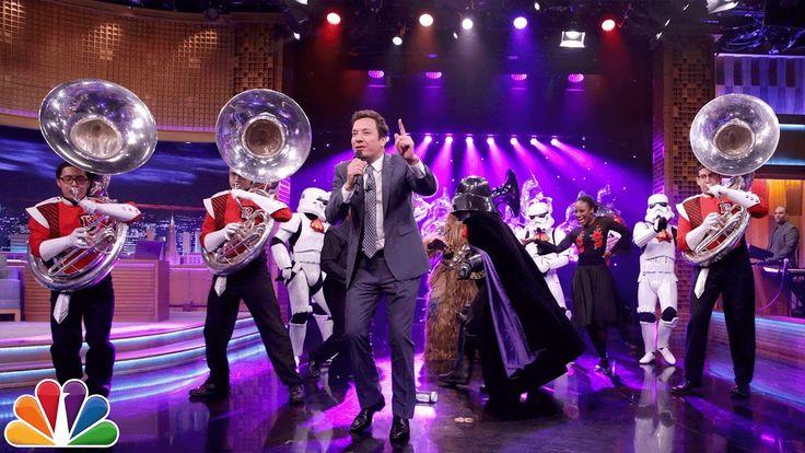 Jimmy Celebrates Cinco de Mayo, Star Wars Day and International Tuba Day