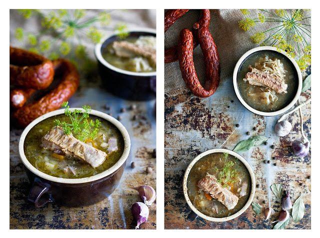 Tatra mountains regional cabbage soup - kwaśnica