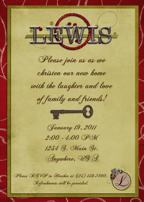 21 best House Warming Invitations images on Pinterest House - best of invitation letter format for housewarming
