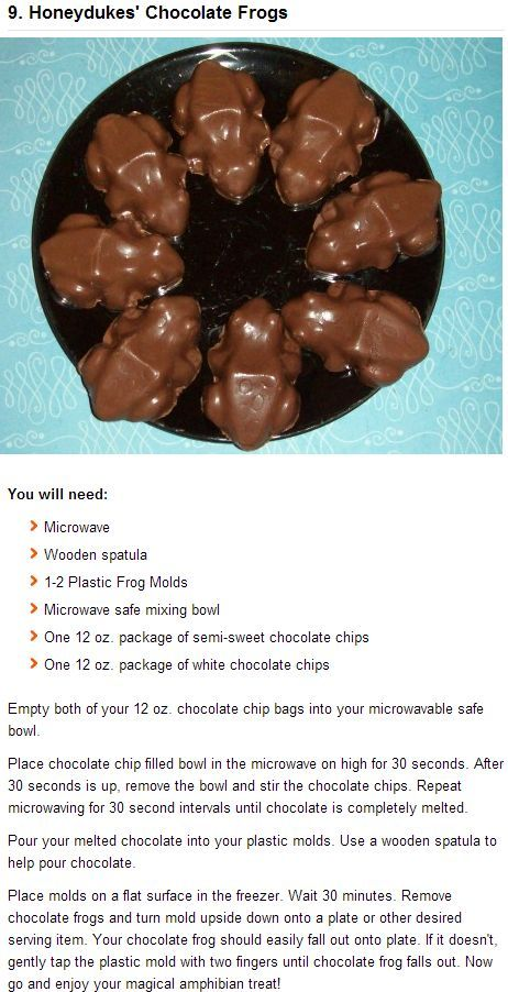 12 magical Harry Potter recipes to make yourself.. | Amazing That!!!!!!!!