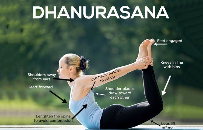 How To Do The Dhanurasana And What Are Its Benefits