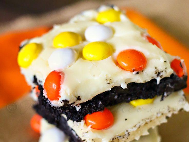 Black Velvet Harvest Brownies {Fall Harvest Blog Hop}