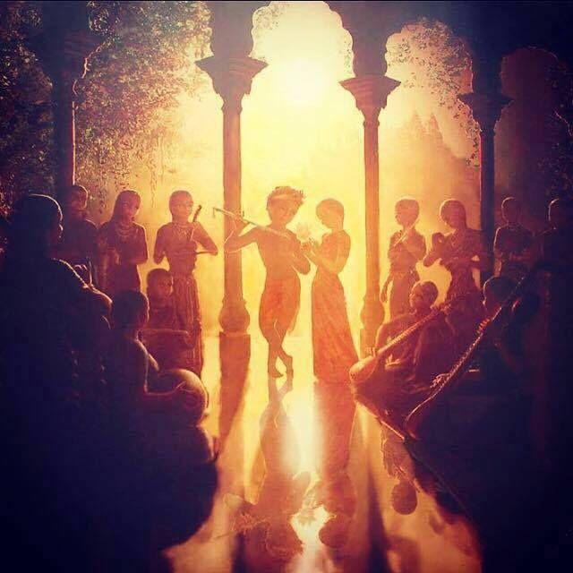 In the Transcendental Light