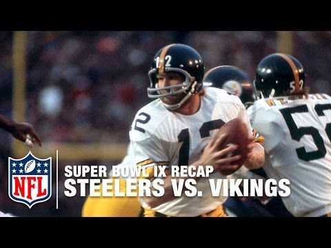 Super Bowl IX Recap: Steelers vs. Vikings | NFL - YouTube