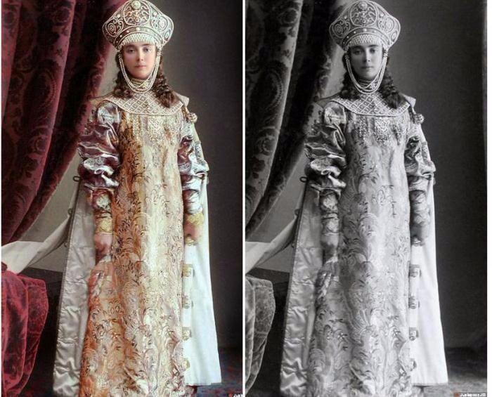 Бал-маскарад в доме Романовых в цвете