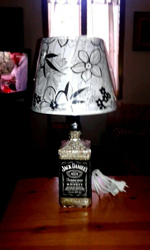 Lampada Jack Daniel's 150 cl  by Santino Cossu