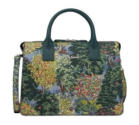 Cath Kidston Ashdown Forest embossed folio mini handbag