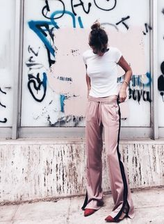 The track pants is not only for sundays