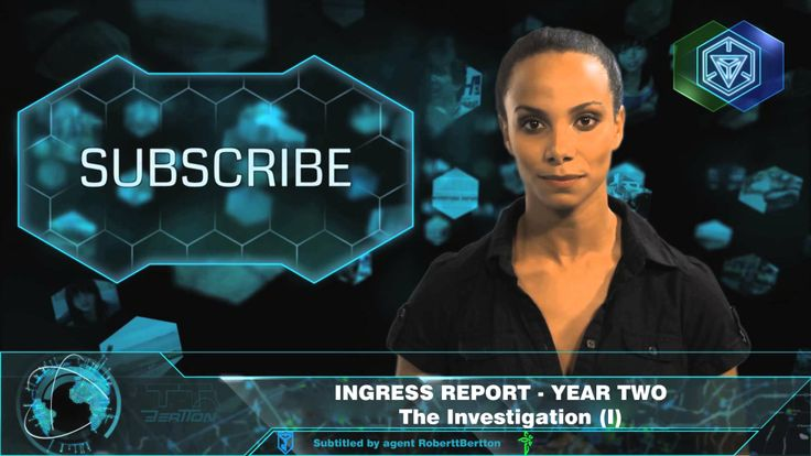 INGRESS REPORT YEAR TWO - The Investigation